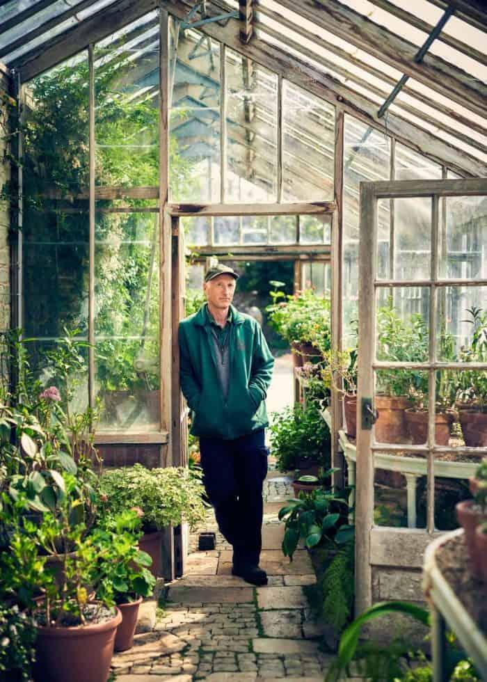 Andrew Humphris, new head gardener at Parham