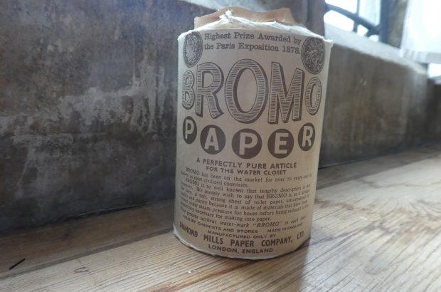 Bromo loo paper