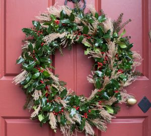 Parham Christmas wreath