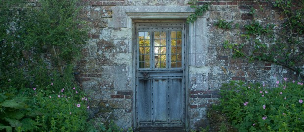 Door Leading to Parham Gardens