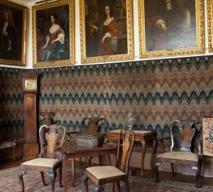 The Westroom in Parham House Sussex